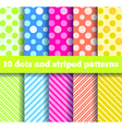 dots pattern vector image vector image