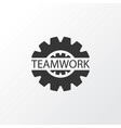gear icon symbol premium quality isolated vector image vector image