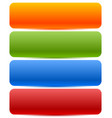 long horizontal button banner backgrounds in vector image vector image