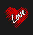 love design for sale vector image vector image