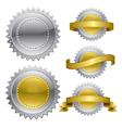Medal Award Rosette vector image vector image