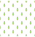 Rocket pattern cartoon style vector image vector image