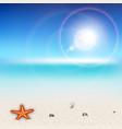 Sunny Beach vector image