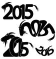 symbol coming year vector image vector image