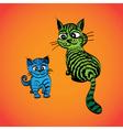 tabcats vector image vector image
