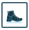 Woman boot icon vector image vector image