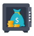 Bank Deposit Concept vector image
