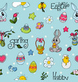 easter seamless pattern for your design i vector image