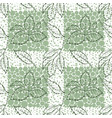 elm leaves seamless vector image vector image