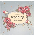 Image festive wedding background for your text vector image vector image