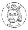 john england vintage vector image vector image