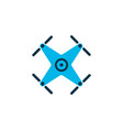 quadrupter icon colored symbol premium quality vector image vector image