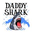 shark t shirt 001 vector image vector image