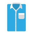 shirt male isolated icon vector image