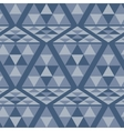Triangle ethnic pattern vector image