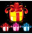 colorful gifts vector image
