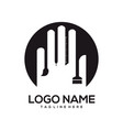 art and design logo template vector image vector image