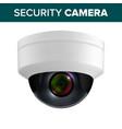 ceiling video surveillance security camera vector image vector image
