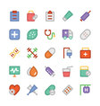Health Colored Icons 6
