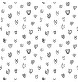 heart pattern for happy valentine day vector image vector image