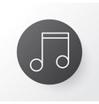 music icon symbol premium quality isolated note vector image vector image