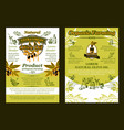 olives or extra virgin olive oil poster vector image vector image
