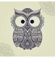 owl bird in vector image vector image