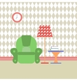 reading room flat vector image vector image