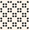 seamless pattern polka dot circles texture vector image vector image