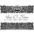 Small Title Frame and Pattern vector image vector image