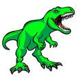 t-rex tyrannosaurus rex dinosaur vector image