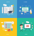 Element of education tutorial traning concept icon vector image
