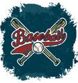 baseball crack vector image vector image
