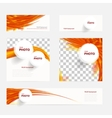 brochure with circles and wave vector image