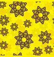 endless islamic ethnic floral retro doodle vector image vector image