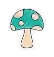 fungus icon image vector image