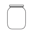 Jar vector image