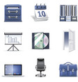 office icons 2 - bella series vector image