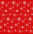 seamless texture with festive garlands of vector image