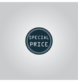 Special Price Icon Badge Label or Sticker vector image vector image