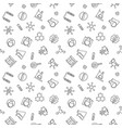 chemistry minimal seamless pattern in thin vector image vector image