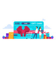 discount concept retail loyalty program online vector image
