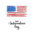 happy independence day card american independence vector image vector image