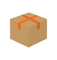 isolated box design vector image vector image
