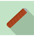 narcotic cigar of cuba icon flat style vector image vector image