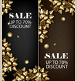 sale discount for everything promo offer banner vector image