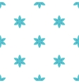 Simple flowers seamless pattern vector image vector image