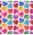 Valentine Background Low Poly vector image vector image