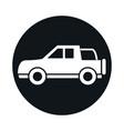 car off road vehicle model transport vehicle block vector image vector image