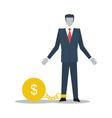 Credit debt business crisis finance limitations vector image